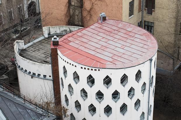 Time short for the cylindrical Melnikov House the home ...