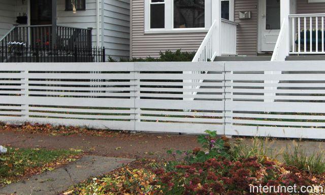 white horizontal wood fence. Horizontal White Fences - Google Search Wood Fence Pinterest