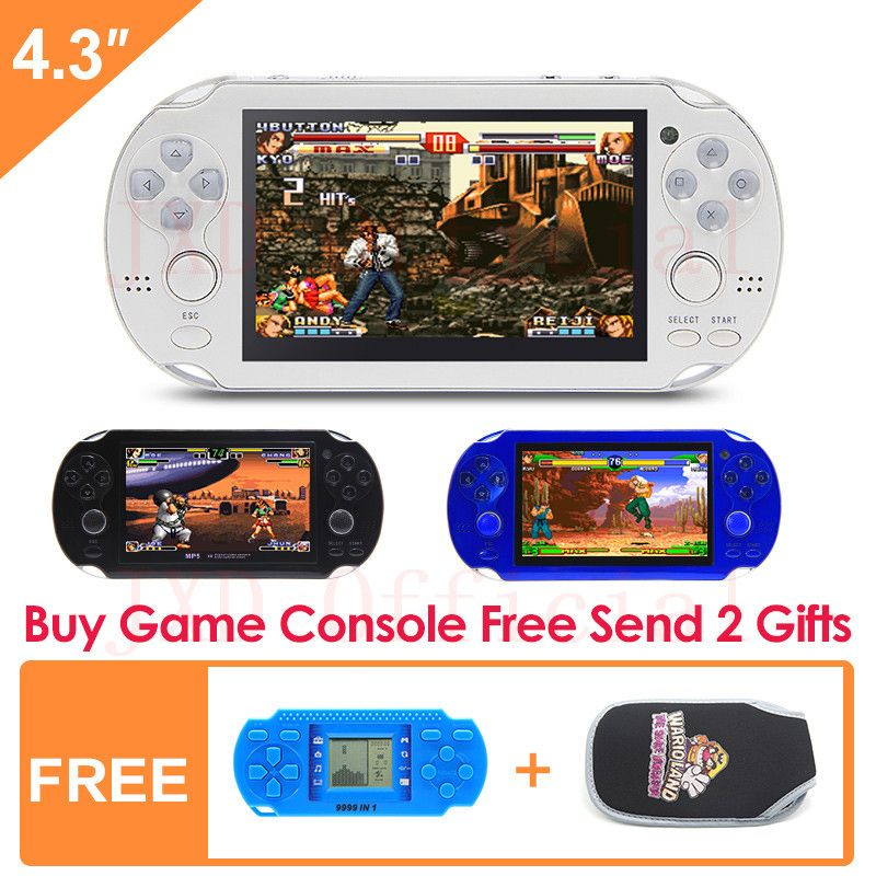 8g handheld game console 43 inch mp4 player video game console 8g handheld game console 43 inch mp4 player video game console retro games built in fandeluxe Gallery
