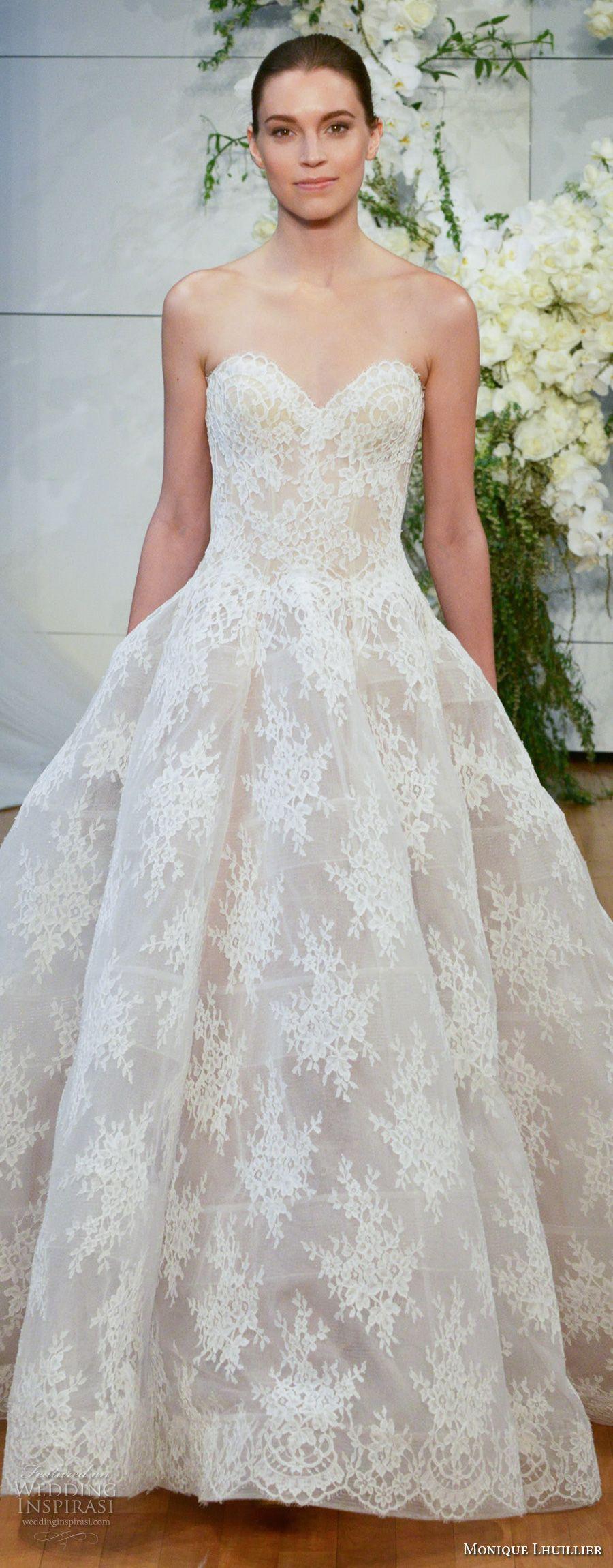 Monique Lhuillier Spring 2018 Wedding Dresses — New York Bridal ...