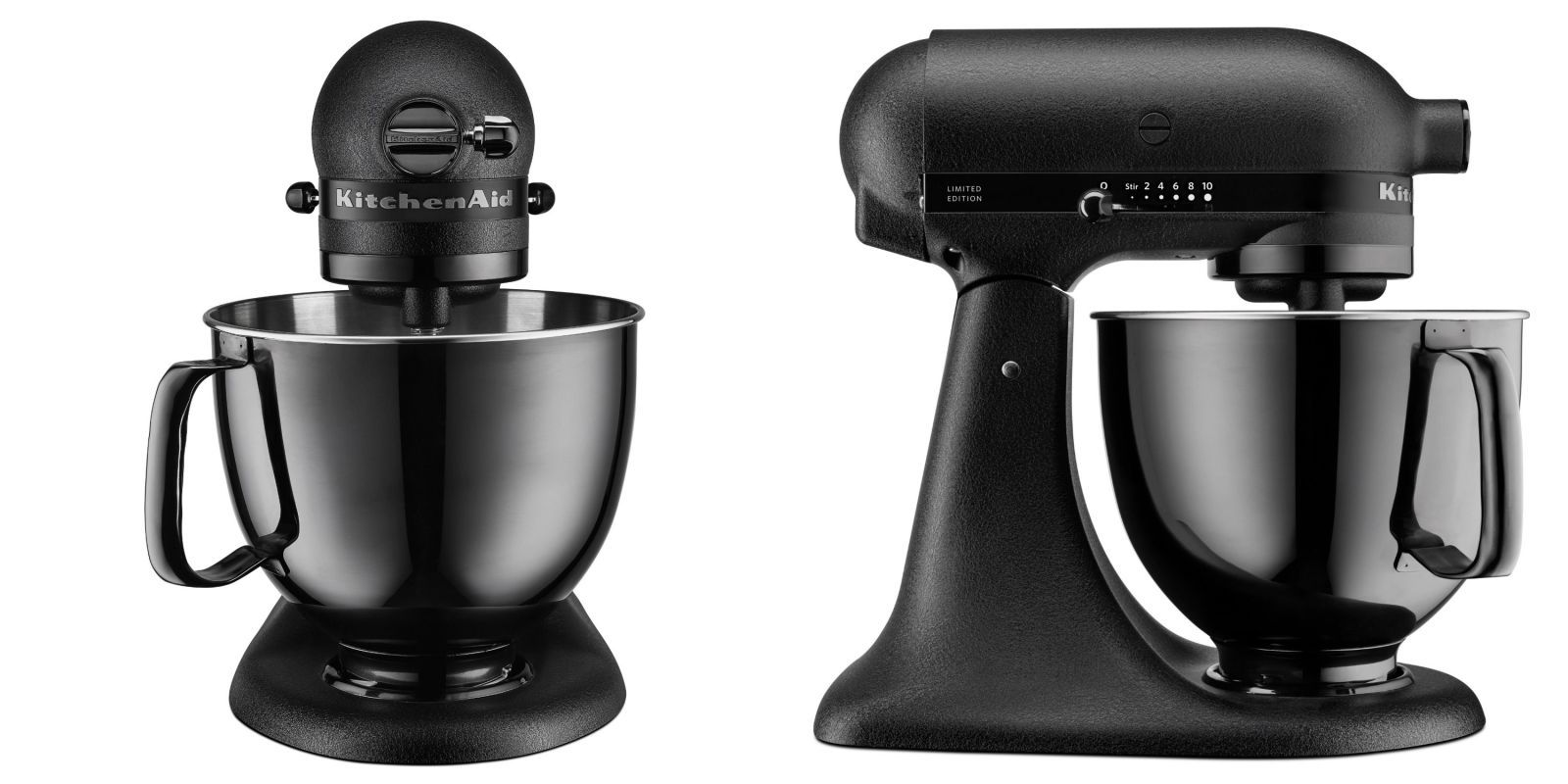 Exceptionnel All Black KitchenAid Mixer Is Now Available. The Product Is Limited  Edition, Stainless Steel And Features A Black Cast Iron Finish And Black  Powder Coating.