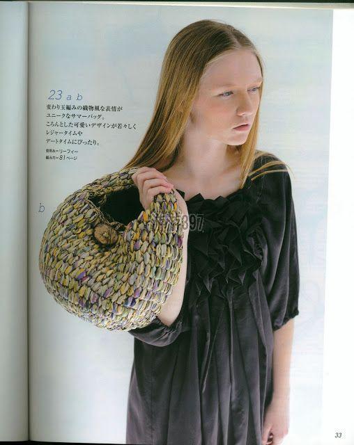 PATRONES GRATIS DE CROCHET: Bolso a crochet con un precioso punto ...