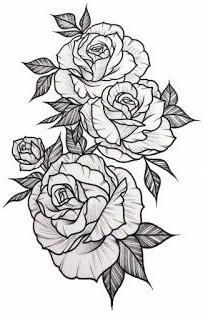 Desenhos Para Tatuagens In 2020 Floral Tattoo Sleeve Rose Drawing Tattoo Rose Tattoo Sleeve
