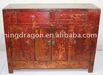 Antique Chinese Furniture Shanxi Red Distreesed Sideboard Buy Antique Chinese Furniture Chinese Furniture Furniture Factory