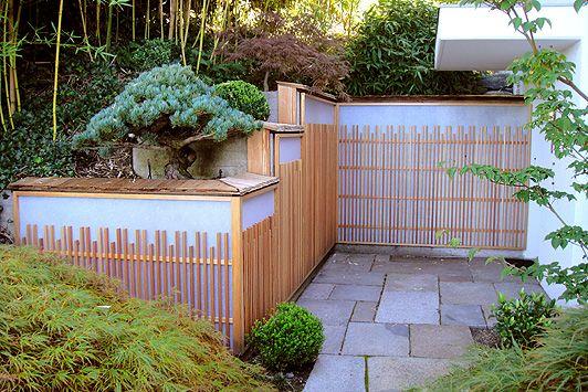 Japanischer Zaun Japanische Gartenarchitektur Pinterest - gartenarchitektur