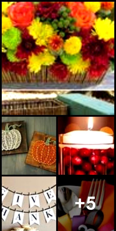 Pumpkin String Art Mini /Halloween Decor /Thanksgiving Decor /Halloween Art /Thanksgiving Dec…