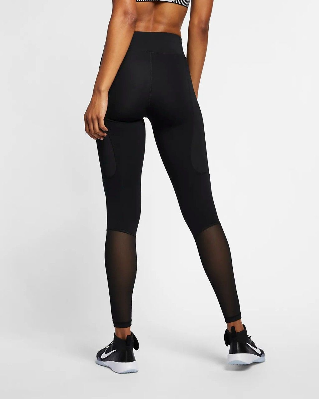 8549f021c2fa0e Nike women's pro hypercool tights Black mesh sizes S M L. Mesh Panel,  Active Wear, Spandex, High Intensity Training, Outer Thighs, Tights
