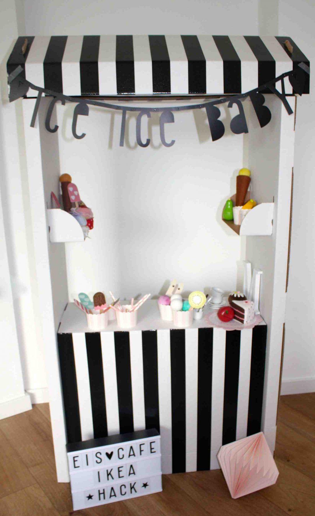 Ikea hack skylta eiscafe kinder mimimia diy blog
