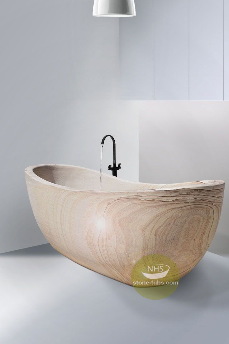 Sandstone Bathtub Is One Of Natural Stone Bathtubs With Such