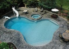 1632 Lagoon Shaped Inground Pool Google Search For The Home