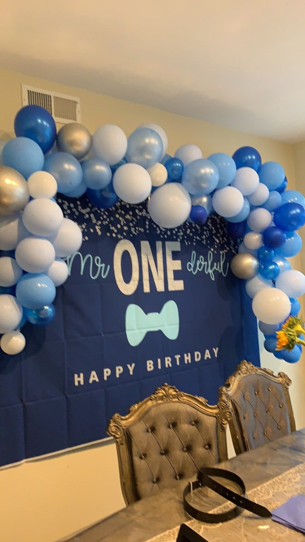 Me Onederful Baby Backdrop in 2020 Mr onederful birthday