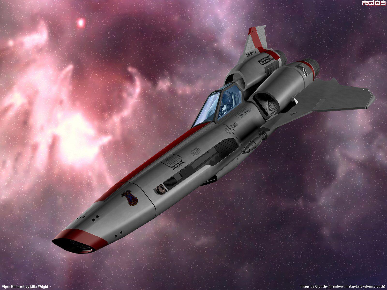 Battlestar Galactica Battle Star Space Fighter