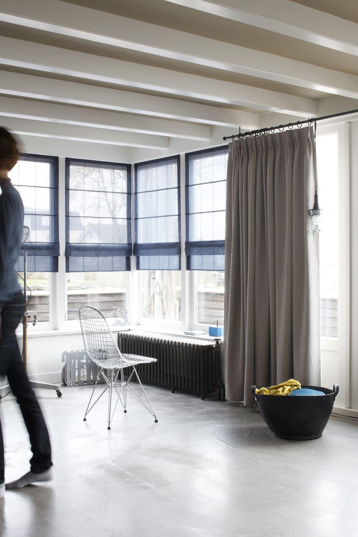 Roman And Curtain Ideas 17 Create A Loft Look Home Curtains