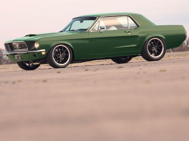 ford - 1967 Ford Mustang Coupe Green