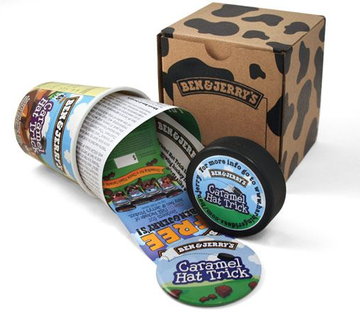 Ben & Jerry's press kit. Different and appealing way to ...
