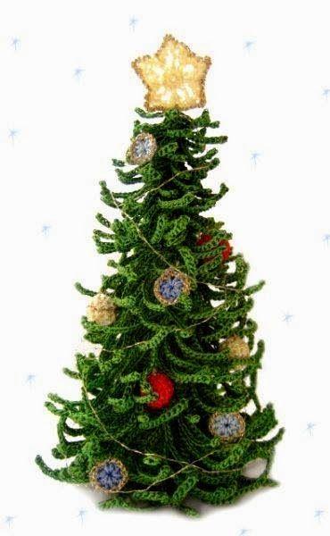 Su Crochet adornos navideños CНЕЖИНКИ, ЁЛКИ, ШИШКИ in 2018 - objetos navideos