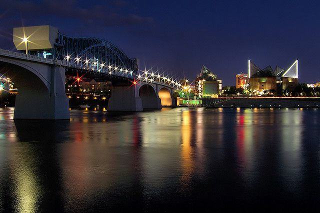 Chattanooga Nights Downtown Chattanooga Summer Travel Places To Go