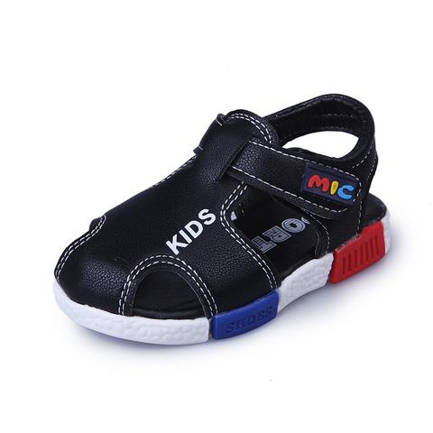 SoulCal Fisherman Infants Boys Sandals Flat Strap Touch and Close