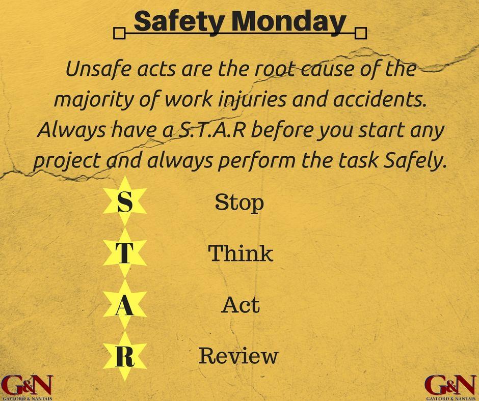 SafetyTips SafetyMonday Work injury, Work related