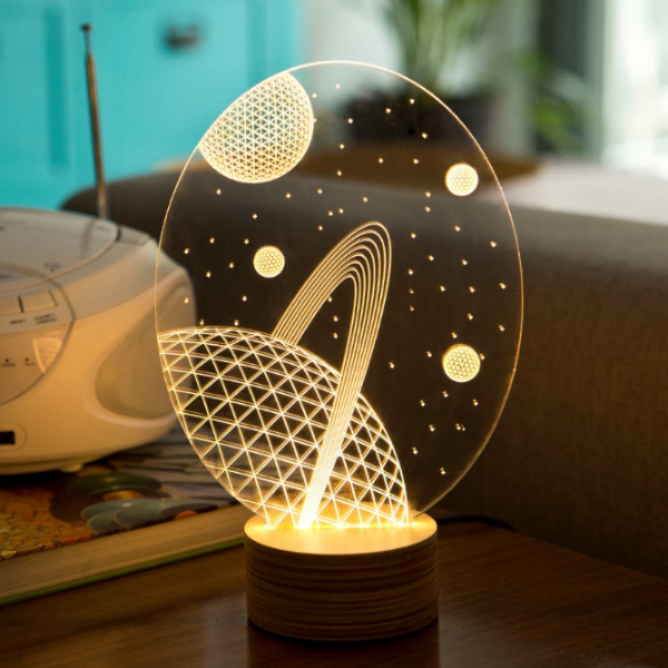 Lampe Bulbing Galaxy 3d Lumiere Led Studio Cheha Things I Want For