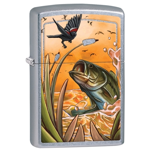 Sunset Bass Zippo Lighter #zippo