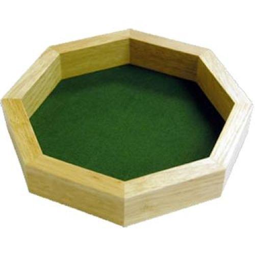 """Dice Tray - 10"""" Wood Koplow Games"""