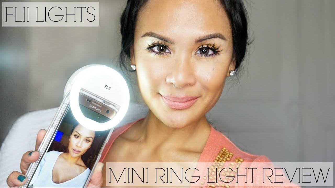 FLII Lights Mini Ring Light Review Selfie/Video Fill