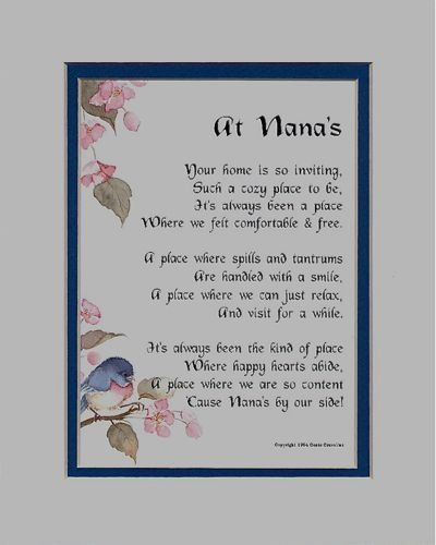 Mothers Day Poems In Spanish Grandmothers  Grandma Poems Mothers