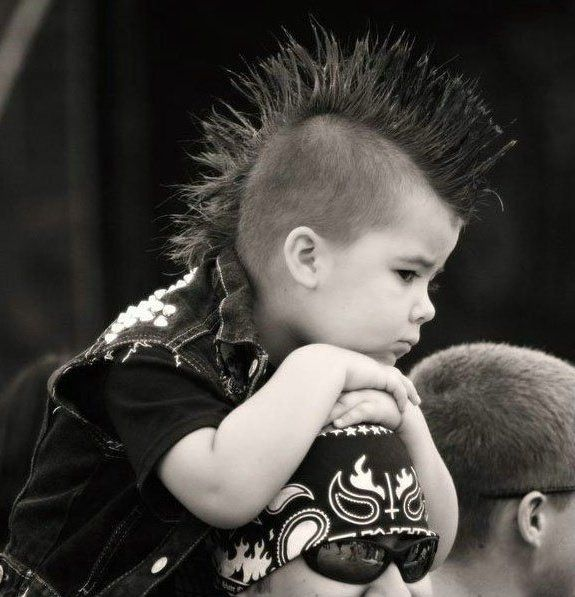 cute little punk