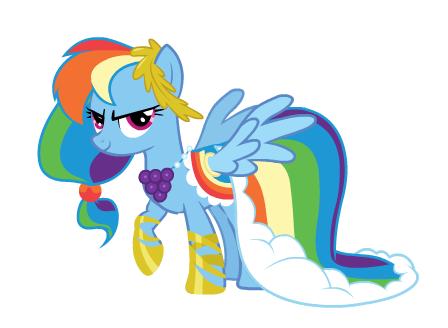 Rainbow Dash Gala Dress With Images Rainbow Dash My Little