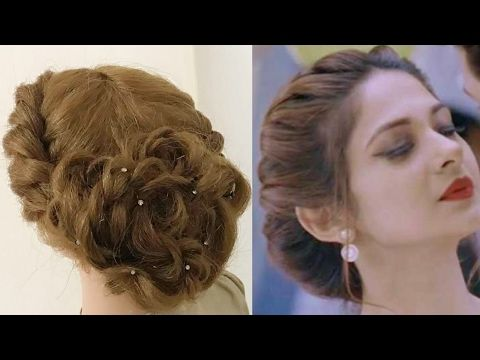 2 Different Hair Styles For Girls Ladies Hair Style Videos 2017