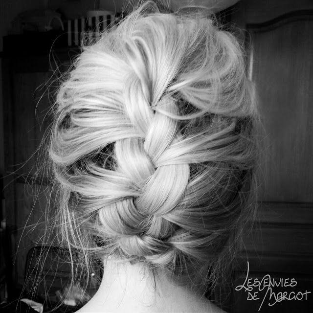coiffure Une tresse africaine sur cheveux milongs