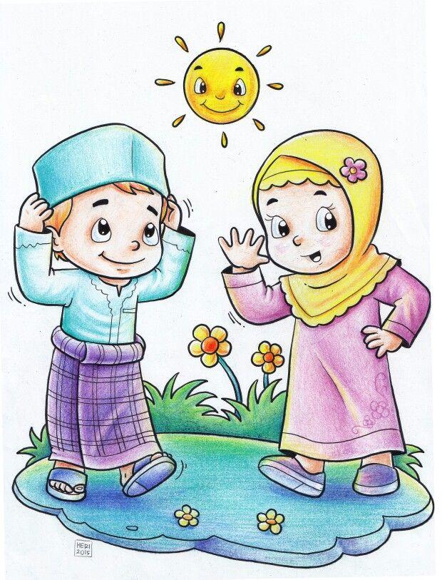 Little Kids Pensil warna, Warna