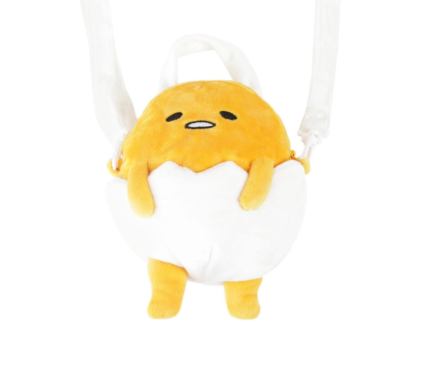 Gudetama Plush Shoulder Bag: Underwear