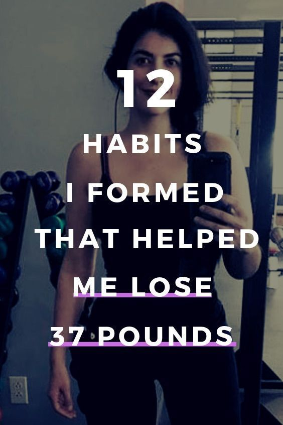 12 Simple Habits That are Proven To Make You Lose Weight For Good - Into Fitness - #fitness #Good #h...