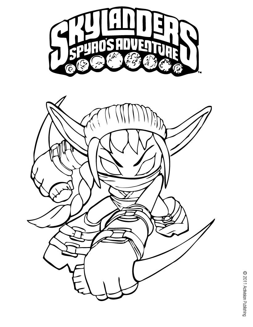 Skylanders Coloring Pages With Images Coloring Pages
