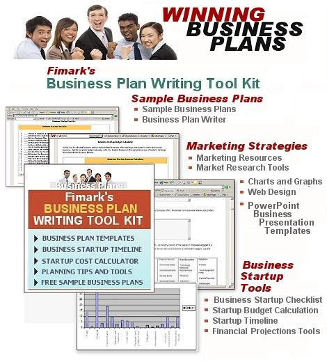 Business Plan Writing Tool Kit Complete Business Startup Planner