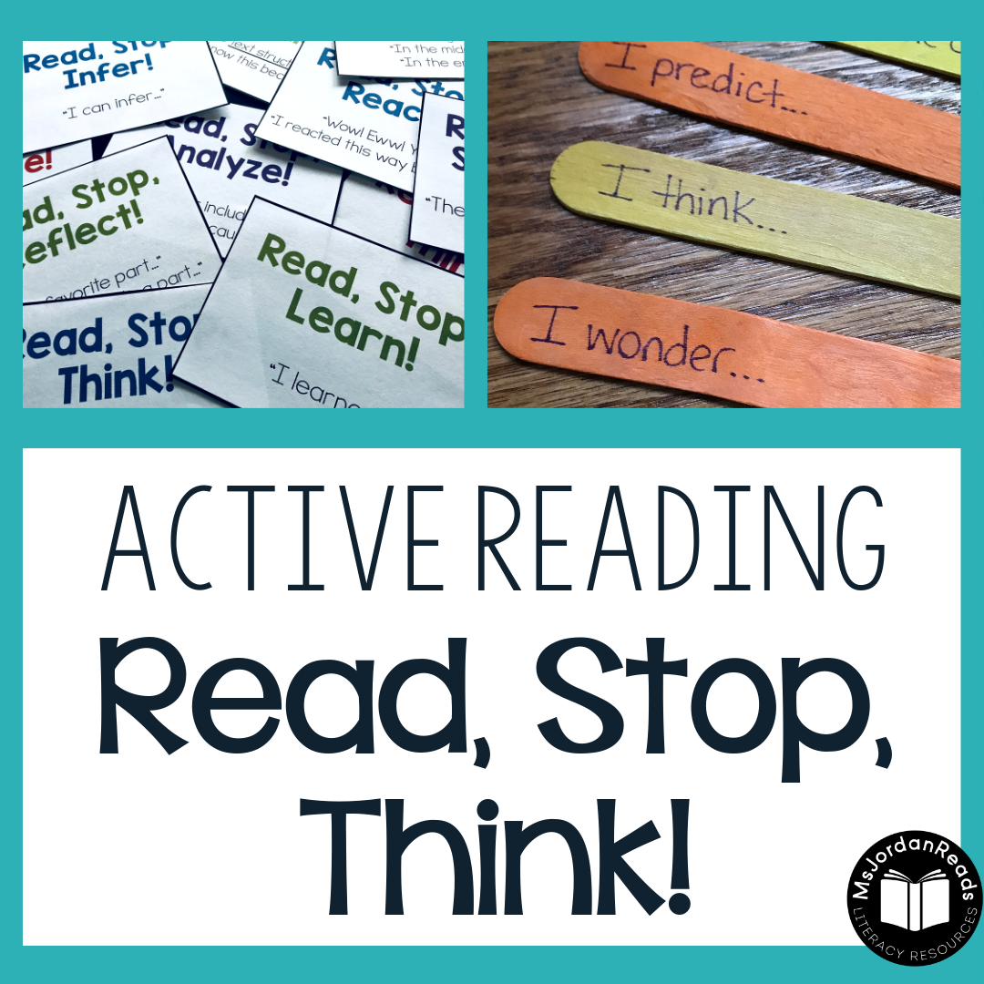 Read Stop Think A Strategy For Active Reading