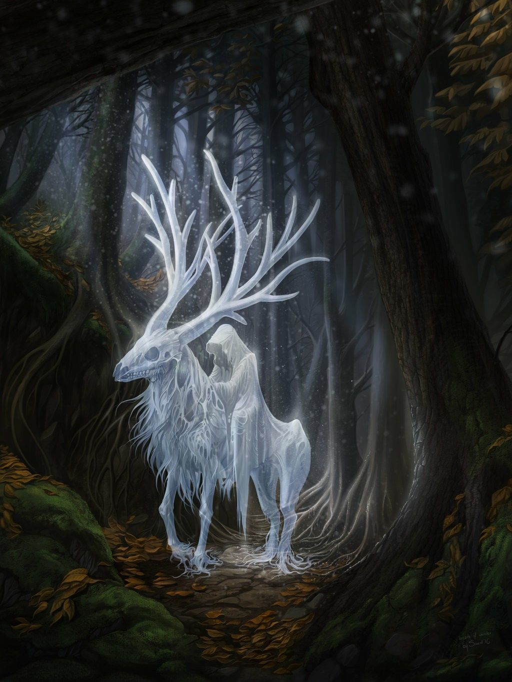Juliettes Revalations. Fantasy Creature And Entity