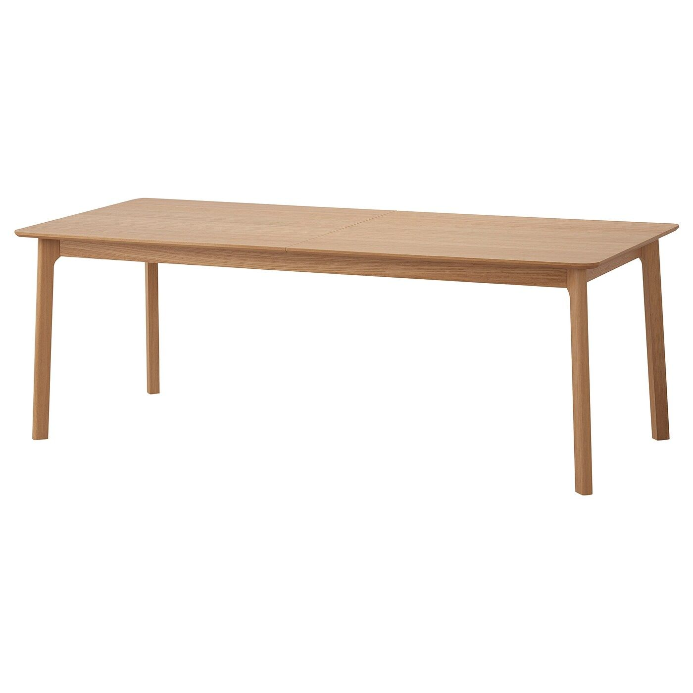 Mellansel Ausziehtisch Eichenfurnier 220x95x77 Cm Ikea Schweiz Ikea Table Ikea Table [ 1400 x 1400 Pixel ]