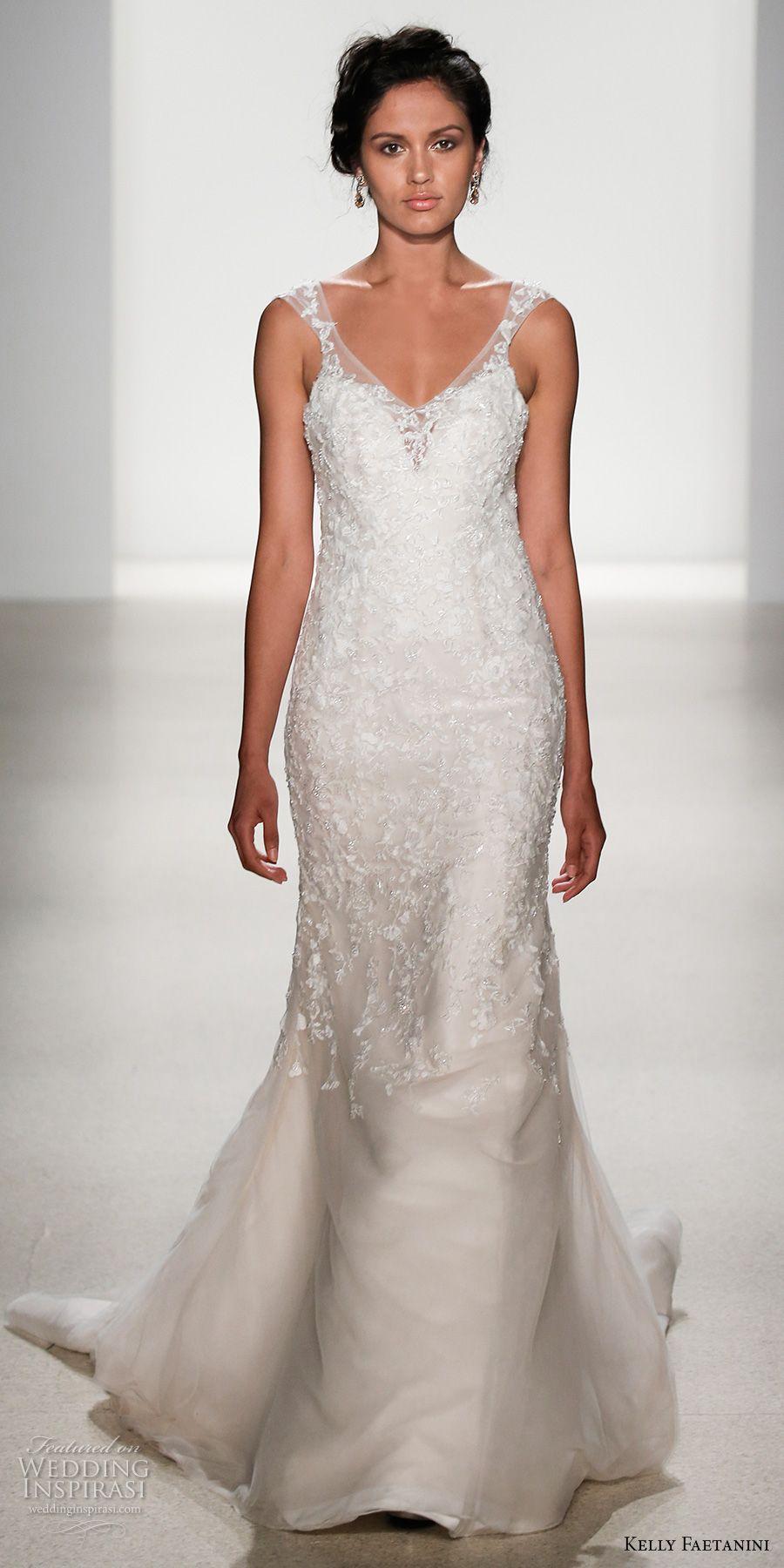 Elegant fitted wedding dresses  Kelly Faetanini Spring  Wedding Dresses u New York Bridal