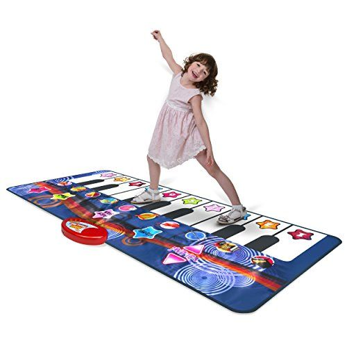 Kidzlane Durable Piano Mat 10 Selectable Sounds Play And Record