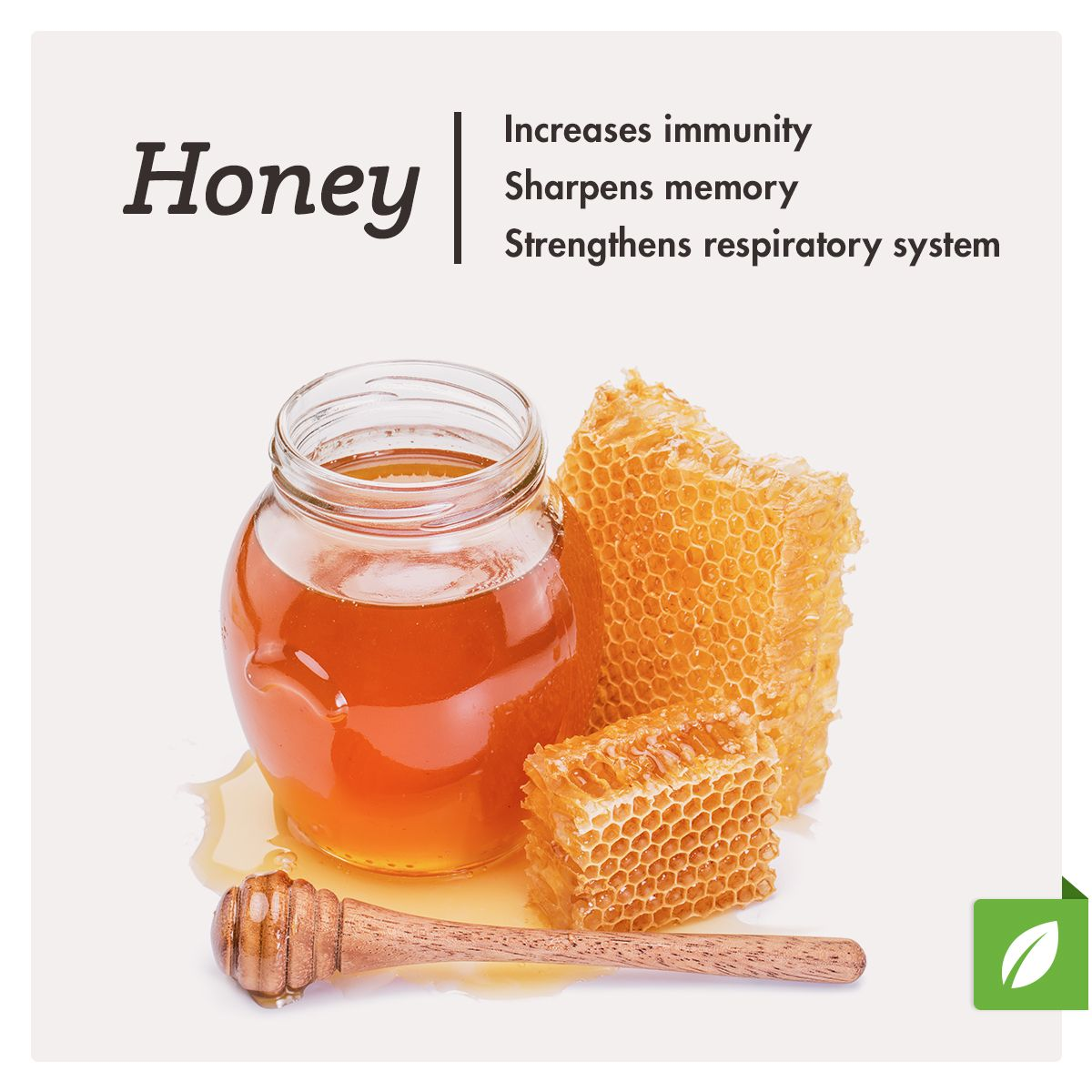 cook with honey instead of sugar and reap the healthy (and