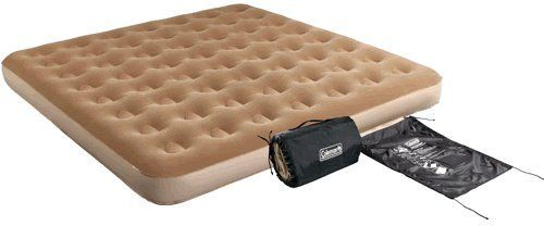 Air Mattress Coleman King Sized Quickbed With Wrap N Roll Storage