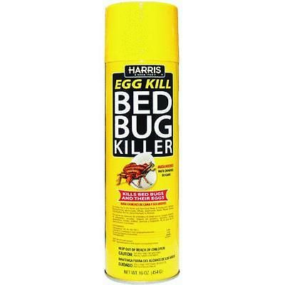 Insect Repellent Sprays 181038 Harris 16oz Aerosol Bed Bug Killer
