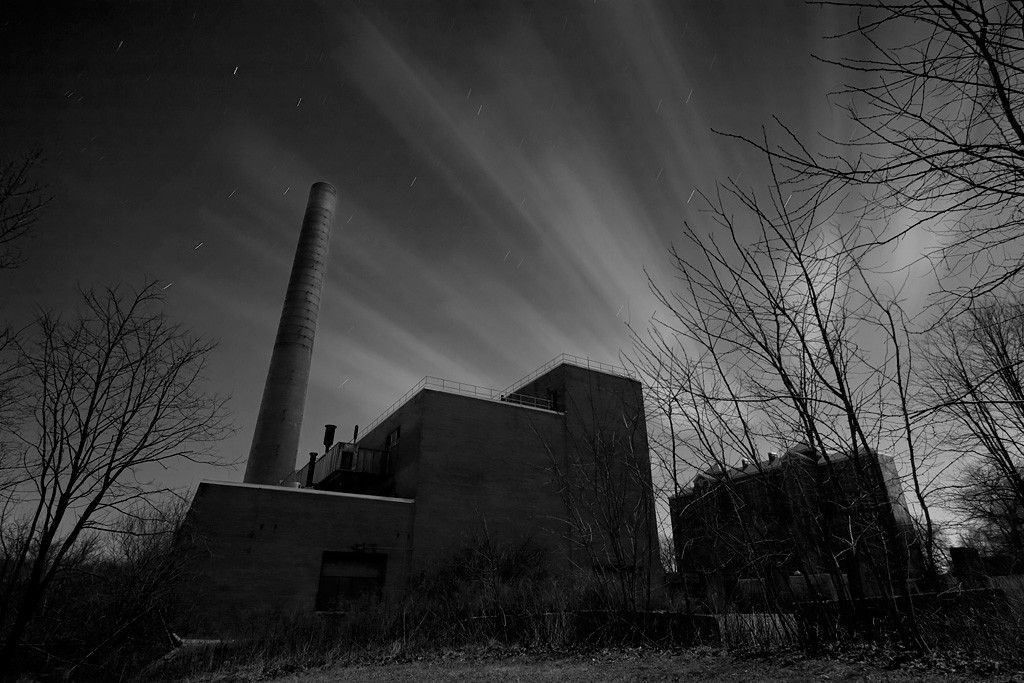 Halo photo of the abandoned kings park psychiatric