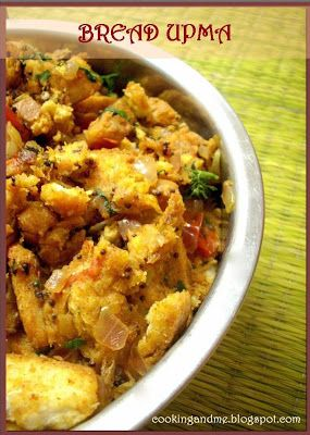 Bread Upma - How to Make Bread Upma | Upma recipe, Indian ...