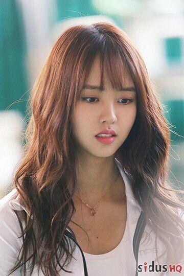 Kim So Hyun Long Hairstyles For Men Kim Sohyun Korean