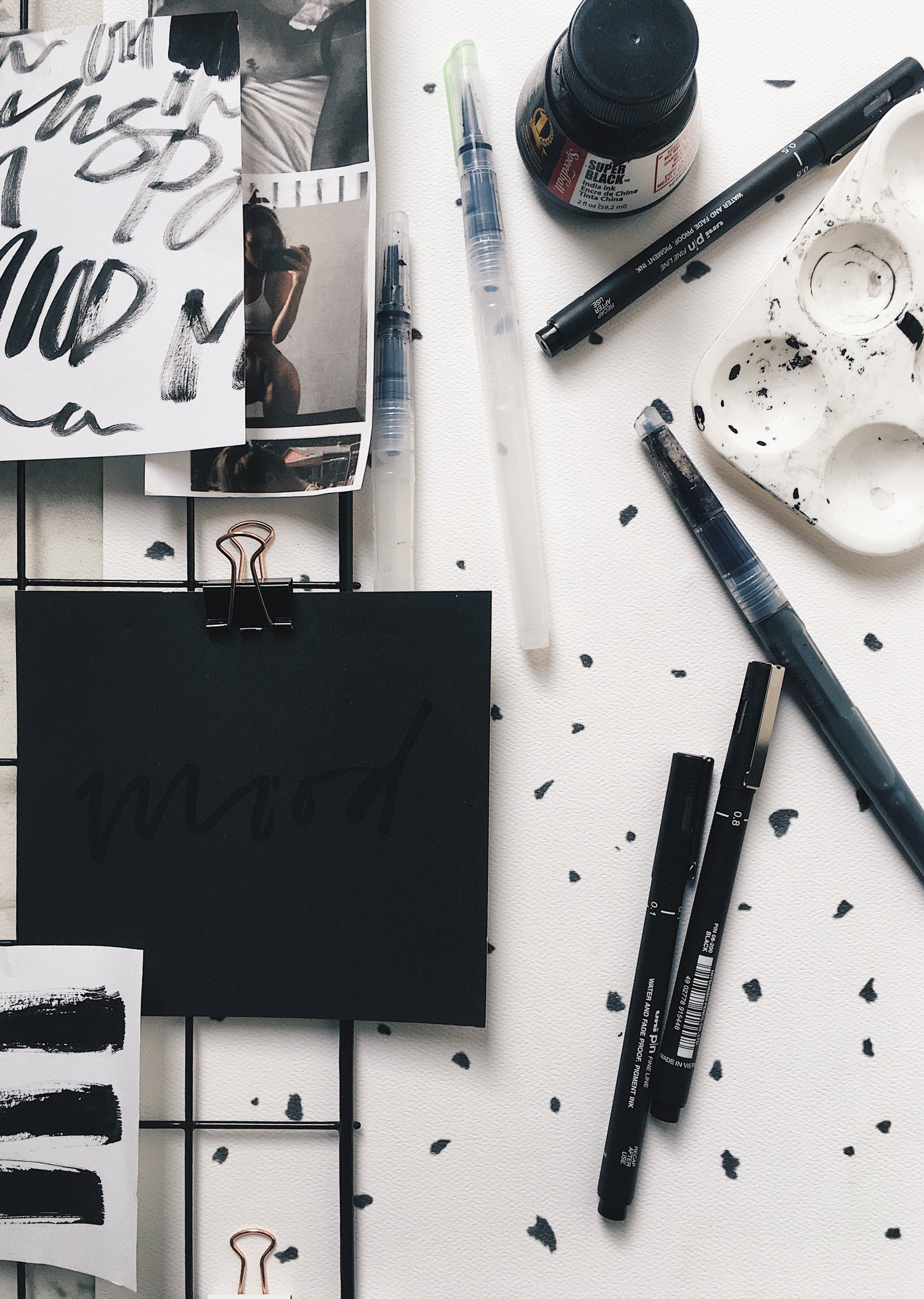 Hand Lettering Tools What I Use With Images