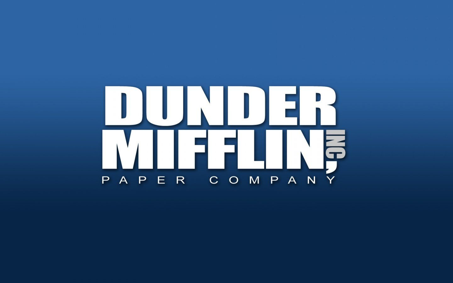 """Dunder Mifflin Inc. """"The People Person's Paper People"""